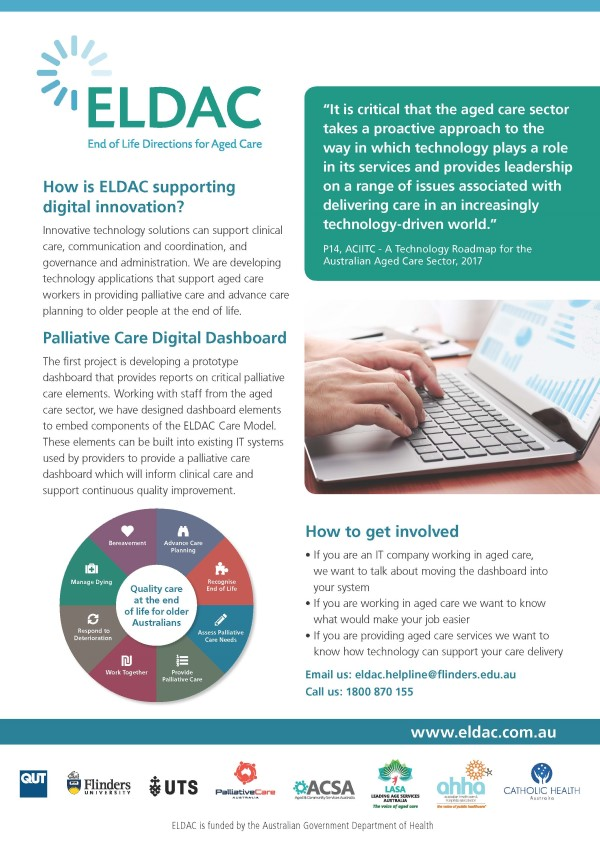 How is ELDAC supporting digital innovation?