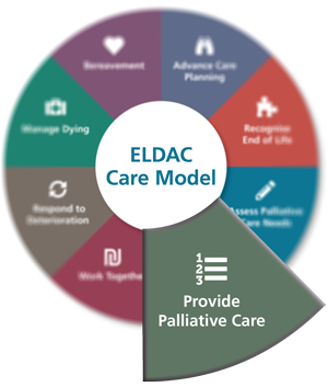 Provide Palliative Care - ELDAC Care Model